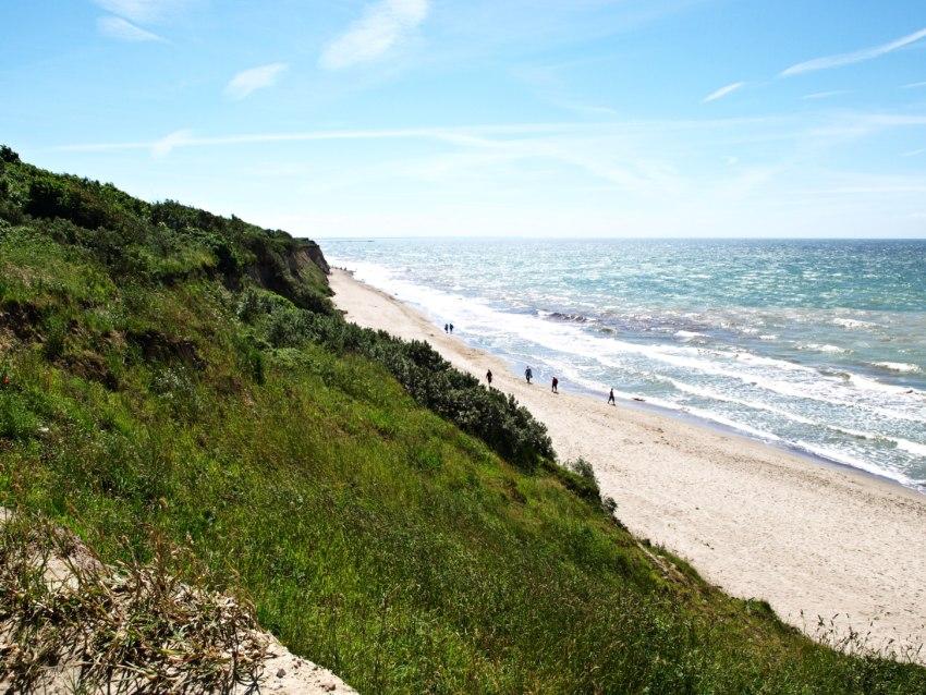 steilküste ahrenshoop, ausblick ahrenshoop
