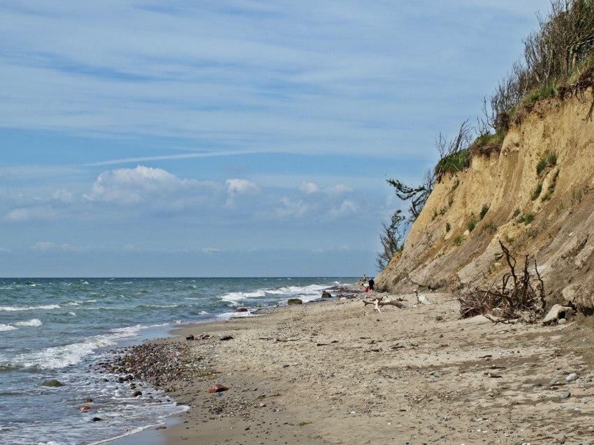steilküste ahrenshoop, strand ahrenshoop