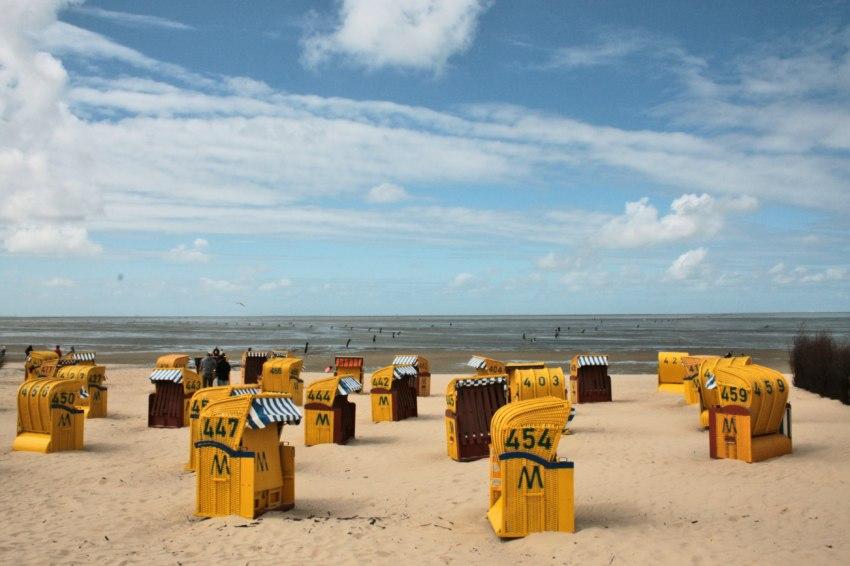 bernstein nordsee, strand cuxhaven