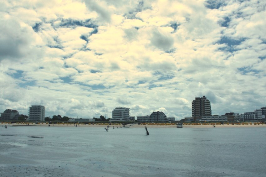 cuxhaven, wattwanderung bernstein
